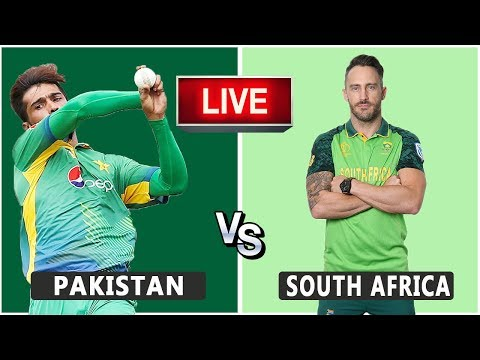 Pakistan VS South Africa Live Match | CWC19 | PAK VS RSA | Live Score and Reaction