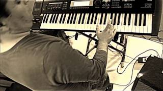 """Video thumbnail of """"Dragonforce Through The Fire And Flames (keyboard cover with all solos played)"""""""