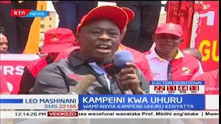 Mkutano wa Rais Uhuru na viongozi wote eneo la Mlima Kenya kumfanyia kampeni tarehe 21 mwezi jana