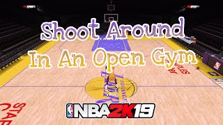 How to Shoot Around in an Open Gym | NBA 2K19 Tutorial (PS3/PS4/XBOX 360/XBOX ONE)