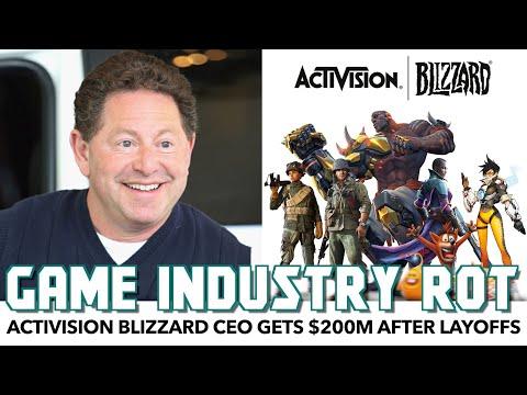 Activision Blizzard CEO Nets HUGE Bonus After Mass Layoffs