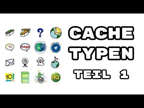 Geocaching Basics #7 - Die CACHETYPEN Teil 1