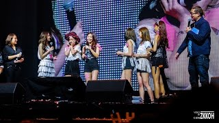 [4K/Fancam] 160402 Game Q&A Cut - Apink Pink Memory Day in Singapore