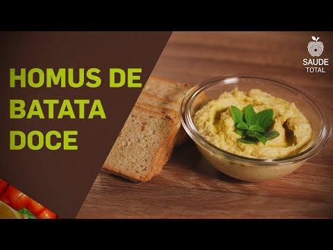 Homus de batata doce | Vitaminas | Saúde Total