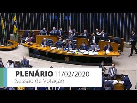 Plenário - MP que altera regras para crédito rural - 11/02/2020 - 19:40