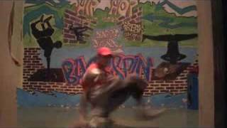 preview picture of video 'break dance cachtice 2008'