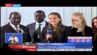NASA Leader Raila and former Tanzania's president Kikwete attend the burial of the Nicholas Biwott