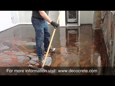 Designer Epoxy Installation