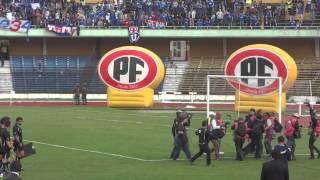 preview picture of video 'Despedida del Sr. Jorge Sampaoli en el Estadio Ester Roa Rebolledo'