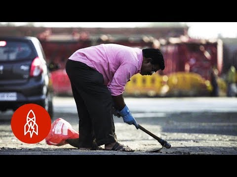 Fixing Potholes in Memory of a Loved One