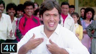 'Filmo Ke Sare Hero Mere Aage Hai Zero' Full Video 4K Song | Juhi Chawla, Govinda | - Swarg