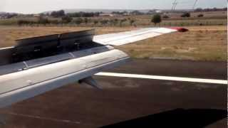 preview picture of video 'Bmibaby 737-300 Landing in Alicante'