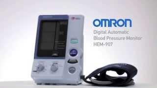 Omron 705CP-II (НЕМ-759P-E2) - відео 3