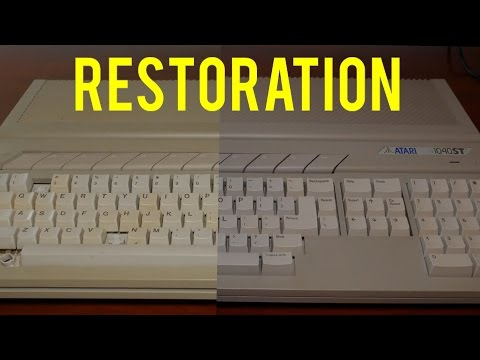 Atari 1040STF Restoration Project - Part 1