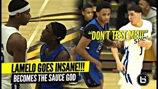 """""""DON'T TEST ME!!"""" LaMelo Ball GETS MAD & Becomes The SAUCE GOD!!! Insane PASSES!"""