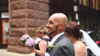 Patricia & Jonathon 2016 wedding at St. Procopius Church and @Chateau Ritz