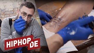Versprechen Eingelöst: Sido Bekommt Fan Tattoo & Greift Selbst Zur Maschine