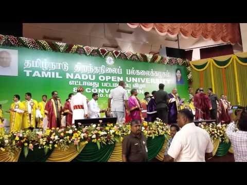 Tamil Nadu Open University video cover1