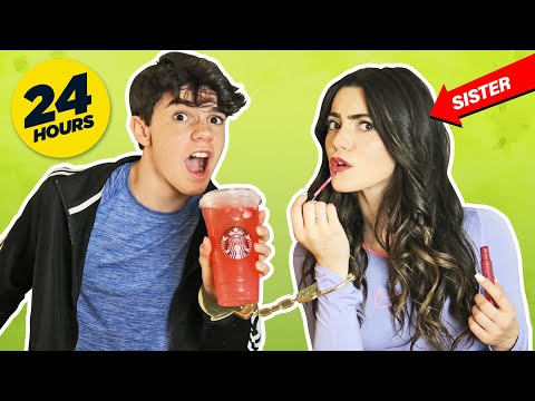 HANDCUFFED to MY FAMILY for 24 HOURS CHALLENGE PRANK **BAD IDEA** |Jentzen Ramirez