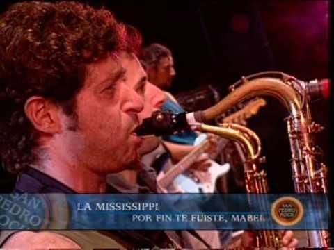 La Mississippi video Por fin te fuiste Mabel - San Pedro Rock II / Argentina 2004