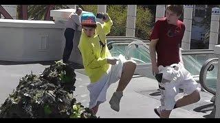 Epic  Bushman Scare Prank Bent Pixels -  Funny video - Funny scare prank - practical joke