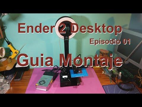 Impresora 3d Lcd Kit De Escritorio Ender 2 150x150x200mm