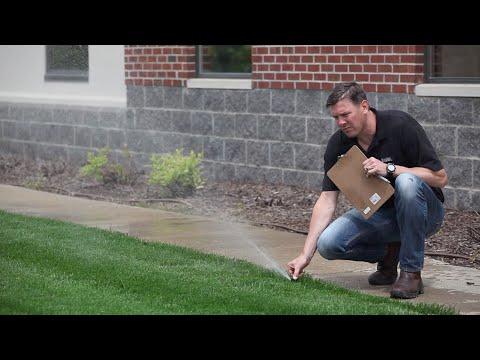 How To Inspect A Sprinkler System
