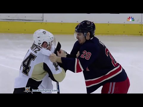 Chris Kreider vs. Chris Kunitz
