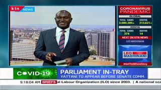 Kenyan Senate probes how COVID-19 response fund was used