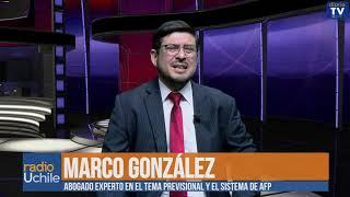 Marcos González: Reforma a pensiones es más de lo mismo