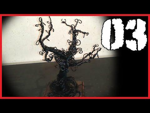 03 - Albero Portagioie Stile Gotico / Tim Burton's Tree (Stand Jewelry)
