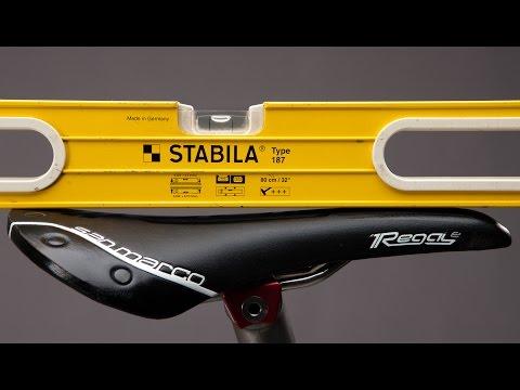 Ciclismo: Inclinazione della Sella