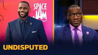 LeBron's Space Jam, better than Michael Jordan's? — Skip & Shannon | NBA | UNDISPUTED