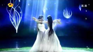 舞蹈 《春》(杨丽萍 小彩旗)