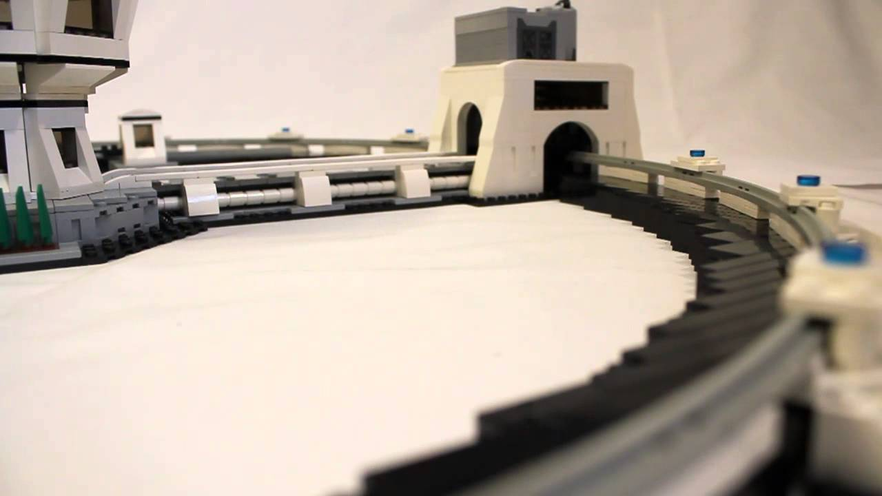 A Working Particle Accelerator Made From LEGO