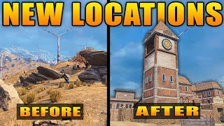 Black Ops 4: ALL New Map Locations in Blackout
