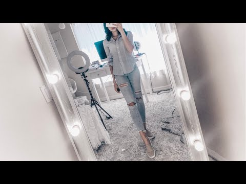Under $40!! Easiest DIY Full Length Vanity Mirror from Amazon! Chende Review