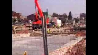 preview picture of video 'EL PRAT DE LLOBREGAT - OBRES DE L'AVE AL PRAT DE LLOBREGAT'