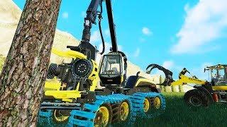 New Million Dollar Forestry Business - Farming Simulator 19 Felsbrunn