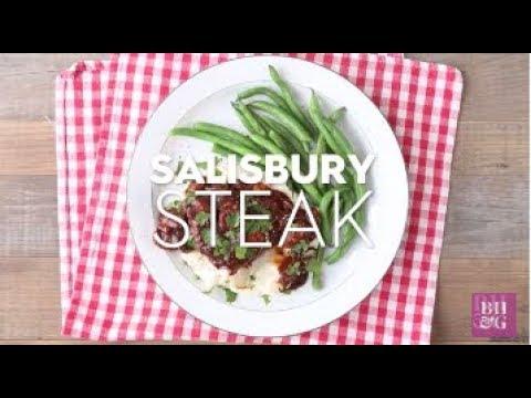 Salisbury Steak | Weeknight Wins | Better Homes & Gardens