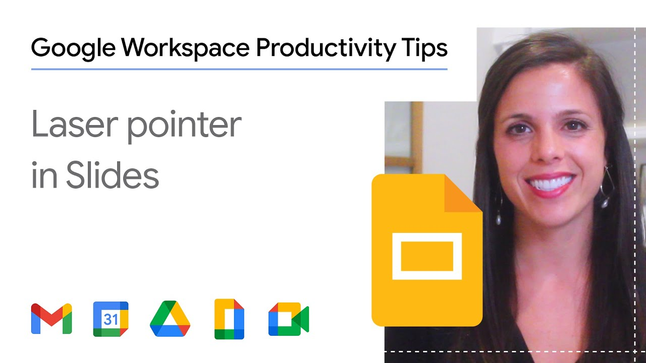 Have you given a presentation and wanted to highlight a specific point for your audience? In this episode of Google Workspace Productivity Tips, we show you how to use the laser pointer feature in Google Slides in one easy step!