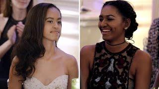 How Sasha And Malia Obama Have Grown Up Over The Last 8 Years