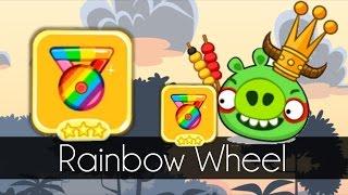 Bad Piggies - RAINBOW WHEEL (Hidden Loot Crates)