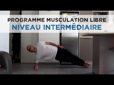 Les exercices avec les haltères du groupe des muscles dans les images