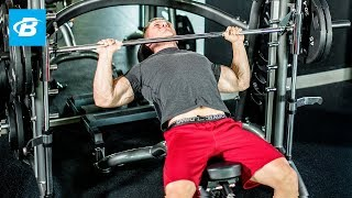 Steve Cook's 6-Exercise Chest-Building Workout - Bodybuilding.com by Bodybuilding.com