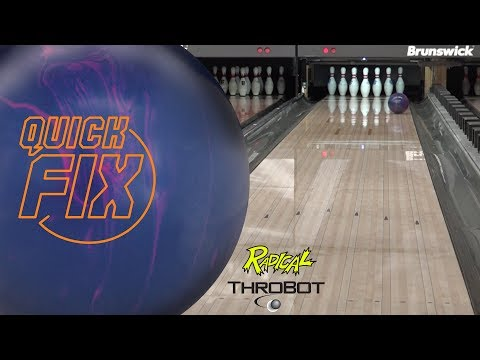 Radical Bowling // Quick Fix // ThroBot Ball Review // URD 07-11-17