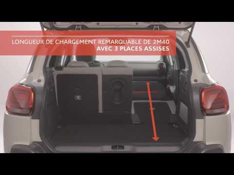 NUOVO COMPACT SUV C3 AIRCROSS: MODULARITÀ