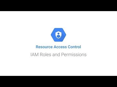 Vidéo décrivant comment attribuer des rôles IAM aux membres d'un projet à l'aide de CloudConsole