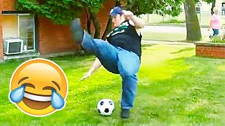 FUNNIEST FAILS & BLOOPERS IN FOOTBALL (TRY NOT TO LAUGH)