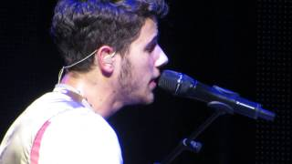 NICK JONAS - Dear God (the first time EVER sung live!) HQ